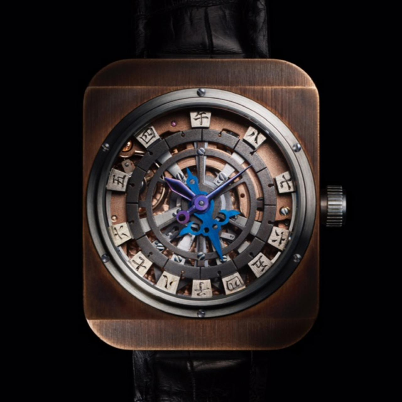 Images : 「和時計改」¥18,000,000<受注生産>/菊野昌宏