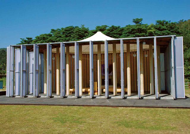 画像: 「紙の教会」。1995年、同じく神戸に建てられ、2008年に台湾に移築(写真は台湾) AFYEN HSIN-CHU