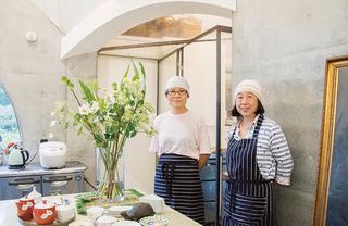 藤岡さん(左・63歳)と須磨さん(右・70歳)