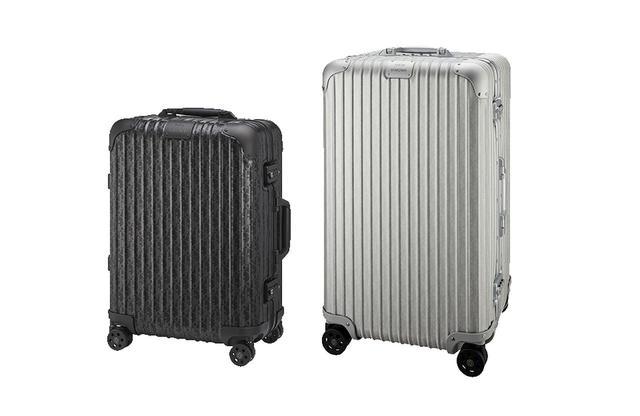 画像: (左)「キャビン」マットブラック<H56×W40×D22cm>¥407,000 (右)「トランク」シルバー<H73×W44×D22cm>¥463,000