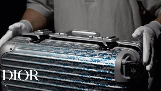 画像: The savoir-faire behind the Dior and Rimowa cabin suitcase COURTESY OF DIOR youtu.be