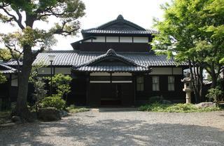 重要文化財 旧朝倉家住宅の外観
