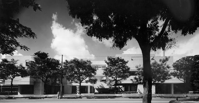 画像: 第2期に計画されたC棟。1973(昭和48)年に完成 © KANEAKI MONMA