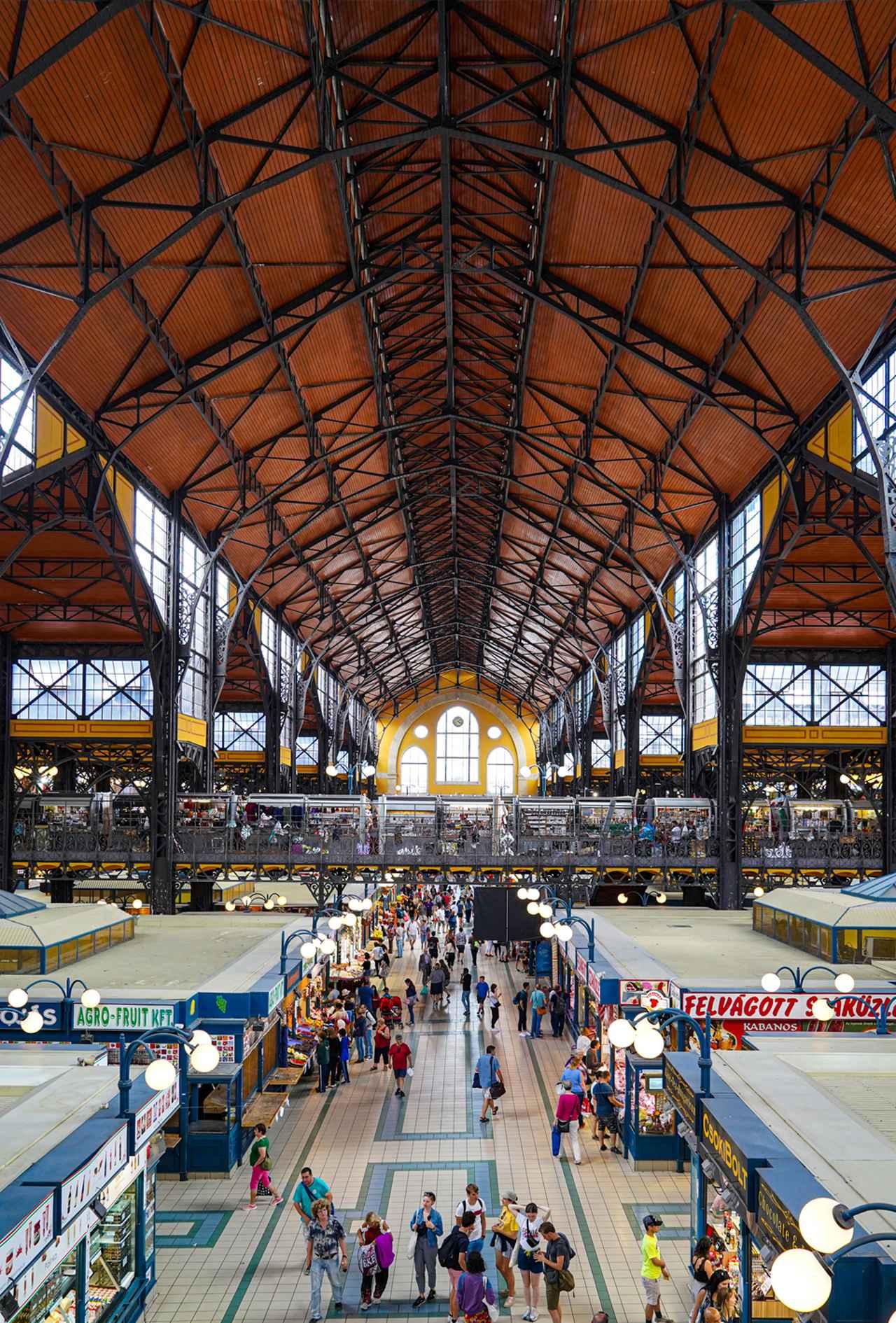 Images : ブダペスト中央市場
