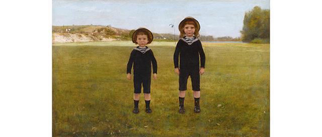画像: モーリス・ブーテ・ド・モンヴェル 《ブレのベルナールとロジェ》 1883年 油彩/カンヴァス オルセー美術館蔵 PHOTO © MUSÉE D'ORSAY, DIST. RMNーGRAND PALAIS / PATRICE SCHMIDT / DISTRIBUTED BY AMF