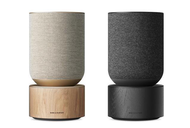 画像: 「ベオサウンド バランス」 ¥260,000 <直径20×H38cm/7.2kg> Bluetooth®対応。ストリーミングサービスはGoogle Chromecast、Apple Airplay2、Spotify Connectに対応。Google AssistantとAmazon Alexa(2020年後半に対応予定)などの主要な音声アシスタント機能を搭載 PHOTOGRAPHS: COURTESY OF BANG & OLUFSEN
