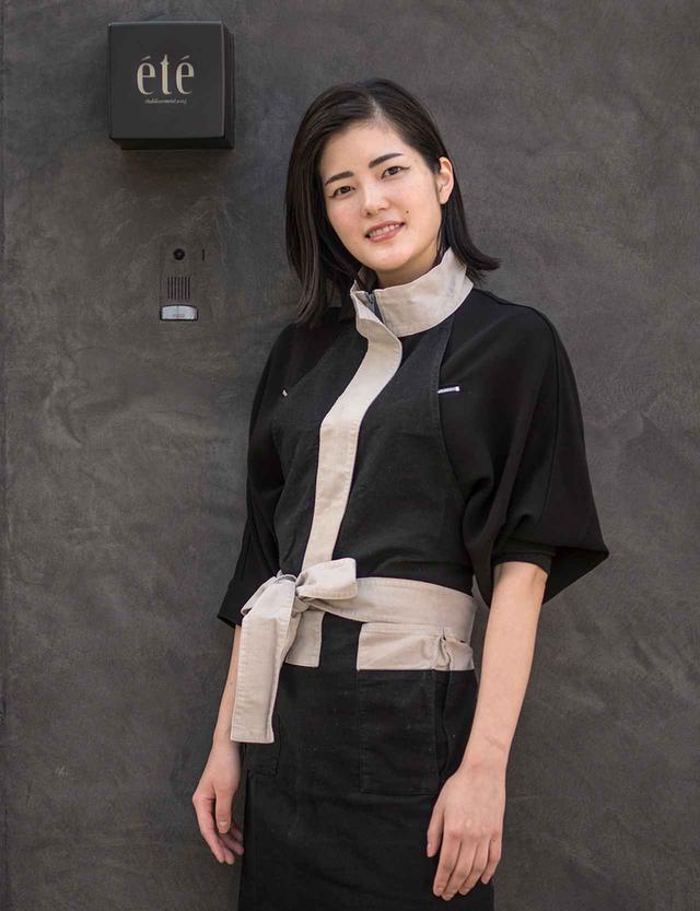 画像: 庄司夏子(NATSUKO SHOJI) 1989年、東京都生まれ。フランス語で「夏」を意味する店名の「été」は「夏子」という自身の名前から