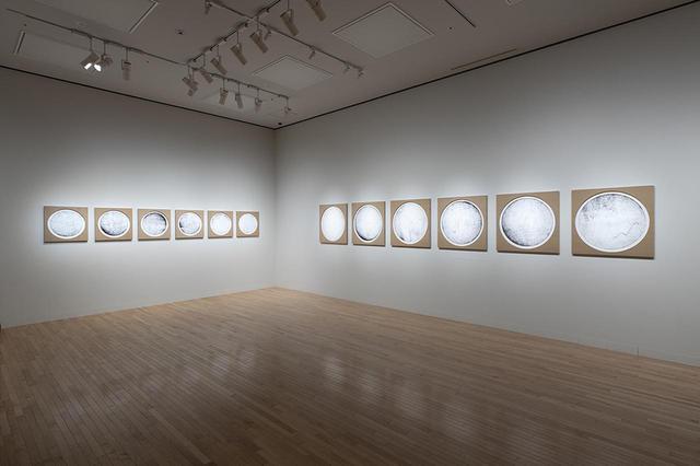 画像: 《クリティカルゾーンの記憶(ドイツ-ポーランド-ロシア-中国-日本)no. 1-12》 2020年 『オラファー・エリアソン ときに川は橋となる』展示風景(東京都現代美術館、2020年) PHOTOGRAPH BY KAZUO FUKUNAGA COURTESY OF THE ARTIST; NEUGERRIEMSCHNEIDER, BERLIN; TANYA BONAKDAR GALLERY, NEW YORK / LOS ANGELES © 2020 OLAFUR ELIASSON