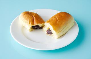 八天堂「くりーむコッペパン」3個セット¥840
