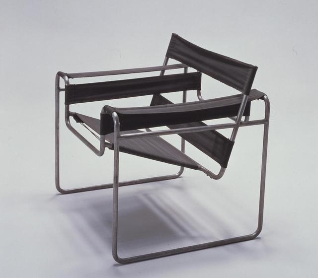 画像: マルセル・ブロイヤー《クラブチェアB3(ヴァシリー)》1925/26年、宇都宮美術館 COURTESY OF UTSUNOMIYA MUSEUM OF ART