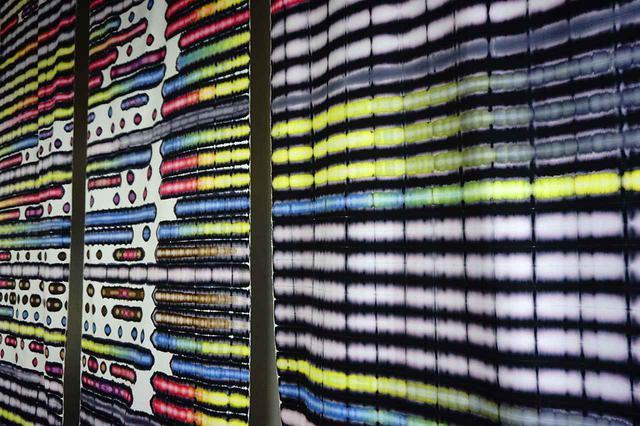 画像: 安達大悟 《つながる、とぎれる、くりかえす》(部分) 2020年、作家蔵 COURTESY OF PANASONIC SHIODOME MUSEUM OF ARY