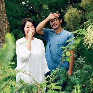 TSUBAKI|宮原圭史(右)、山下郁子(左)