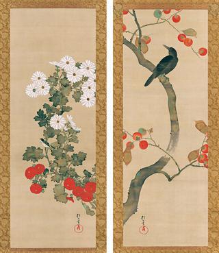 《十二か月花鳥図》