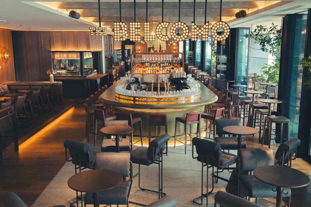 画像: 「THE BELCOMO」の内観。ホテルゲストはここで朝食(和食、洋食)を。ランチタイムからは夜まで賑わっている