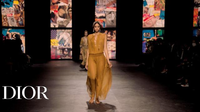 画像: The Dior Spring-Summer 2021 Show © DIOR www.youtube.com