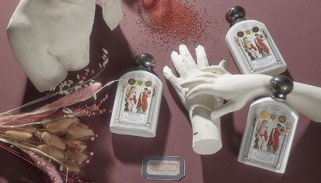画像: オフィシーヌ・ユニヴェルセル・ビュリー「ユイル・アンティーク」<190ml>(全6種)¥5,700 香りは、ローズ・ドゥ・ダマス、リケン・デコス、チュベローズ・ドゥ・メキシク、フルール・ドランジェ・ドゥ・ベルカンヌ、ユズ・ドゥ・キソ、ヘリオトロープ・デュ・ペルーがある 商品詳細は こちら COURTESY OF OFFICINE UNIVERSELLE BULY