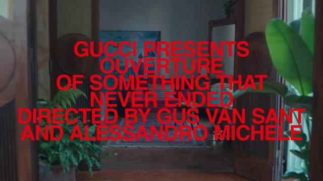 "画像: TRAILER OF EPISODE 1 'AT HOME' from Ouverture of Something that Never Ended directed by @gus_van_sant and @alessandro_michele. / Featuring music by @kimletgordon Music: ""Another Time""""Quieter and Louder"" / Written by Kim GordonPublished by © Kobalt Music Publishing Worldwide Ltd obo Forgetful Songs [BMI] youtu.be"