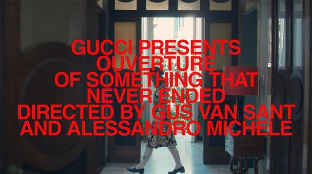 画像: 「GucciFest」特設サイト では、短編映画『OUVERTURE of something that Never Ended』のほか、予告編、撮影秘話また登場したルックも随時公開される © GUCCI
