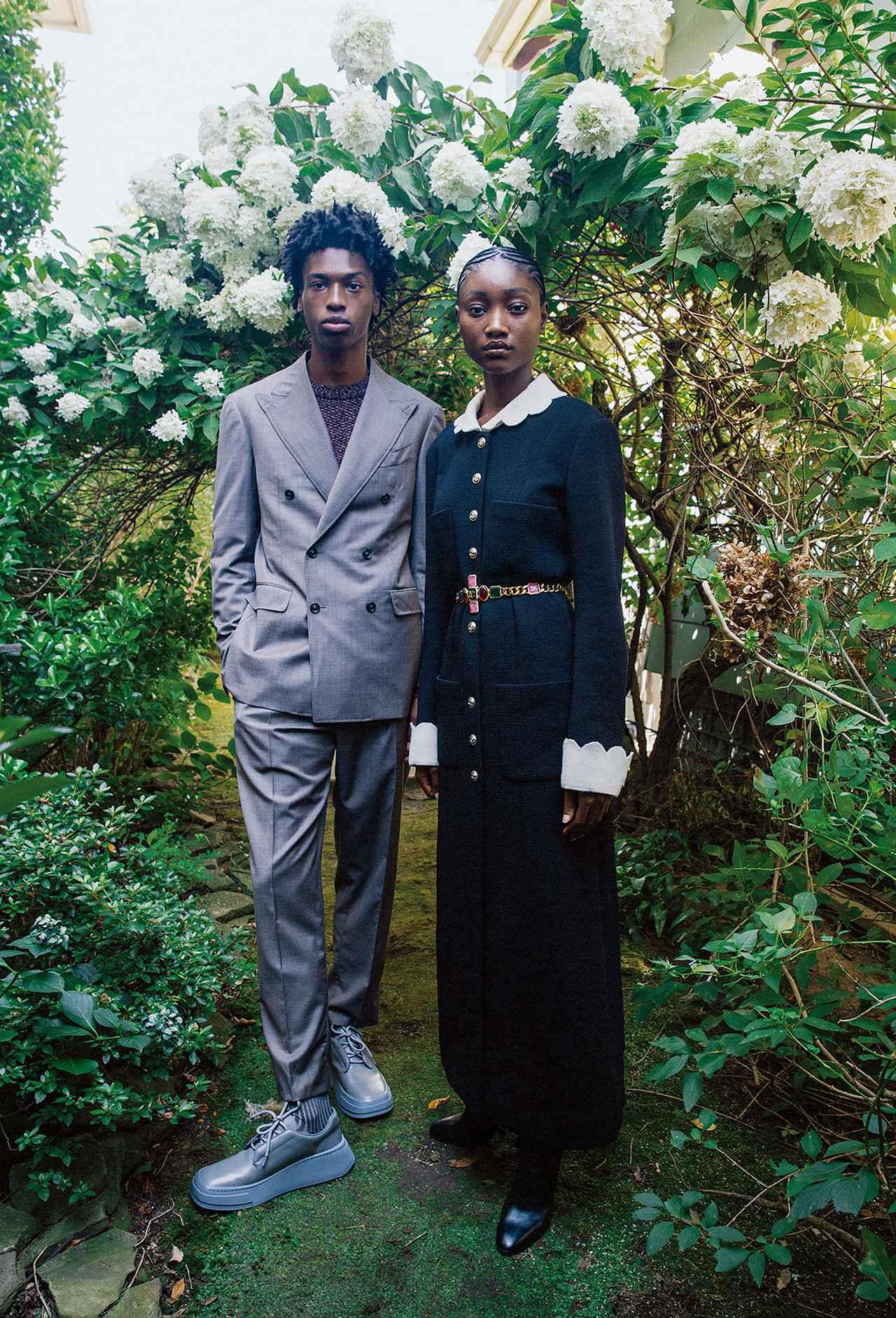 Images : 1番目の画像 - 「黒、グレー、ネイビーブルー 冬の散歩道は モノクロームの装いで」のアルバム - T JAPAN:The New York Times Style Magazine 公式サイト