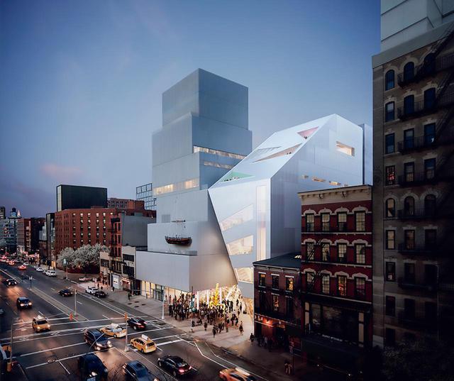 画像: SANAA設計による本館の隣に計画されている「ニューミュージアム新館」(アメリカ・ニューヨーク州) © OMANY