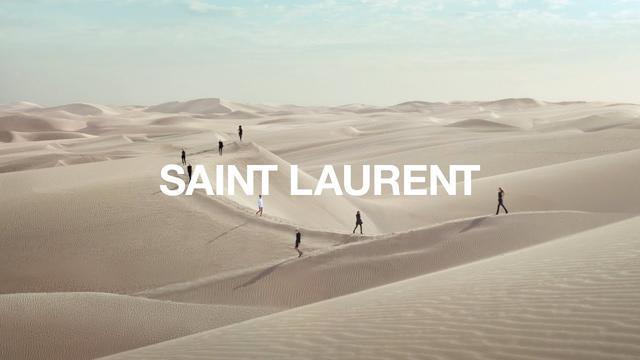 画像: SAINT LAURENT - WOMEN'S SUMMER 21 - FULL SHOW VIDEO @NCANGUILHEM, SOUNDTRACK @SEBASTIAN_EDBGR, JEWELRY BY CLAUDE LALANNE www.youtube.com
