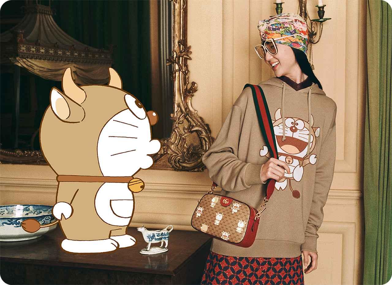 Images : 2番目の画像 - 「TJ News ショップには「どこでもドア」も! グッチとドラえもんの コラボレーションアイテムが発売」のアルバム - T JAPAN:The New York Times Style Magazine 公式サイト