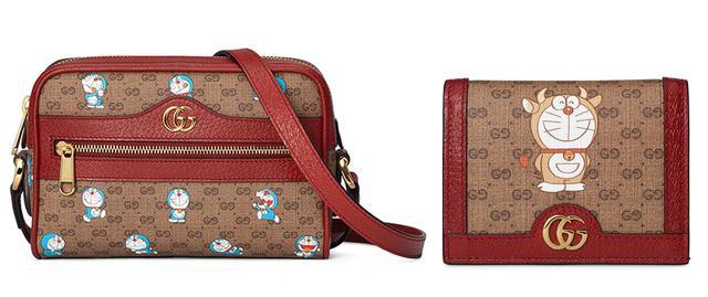 画像: (写真左)ミニバッグ<H12 x W17.5 x D5.5cm>¥127,000 (写真右)ミニウォレット<H8.5 x W11 x D3cm>¥50,000