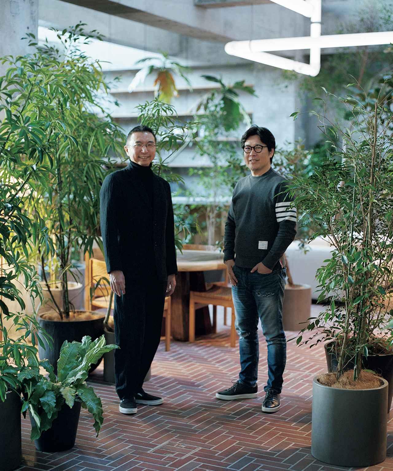 Images : 建築家の藤本壮介と「JINS」創業者の田中 仁