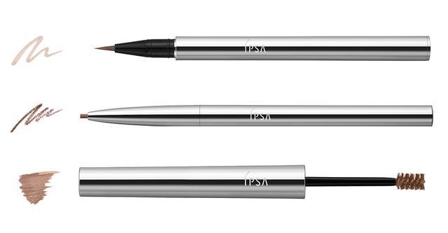 画像: 「クリエイティブ アイブロウ エレメンツ」¥5,500(セット価格) (写真上より)アイブロウリキッドライナー、アイブロウペンシル、アイブロウマスカラ 肌測定器「イプサライザー」が、一人ひとりの髪の色・眉の状態・仕上がりの印象を考慮して、アイブロウリキッドライナー3種、アイブロウペンシル4種・アイブロウマスカラ4種の中から、最適な組み合わせ(各1種)を提案。まるで自眉のような自然で立体的な眉づくりが叶う 商品詳細は こちら COURTESY OF IPSA