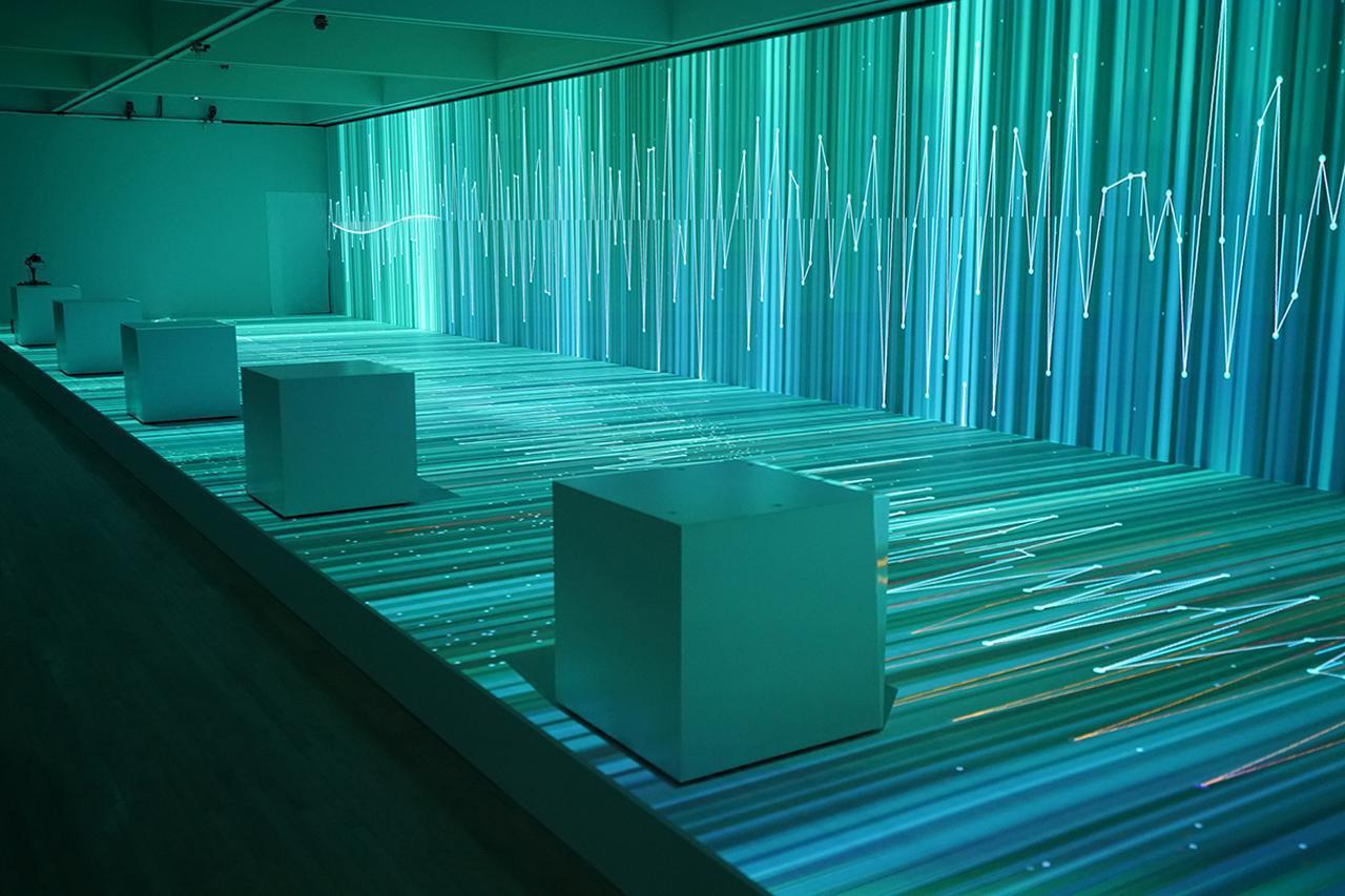 Images : 『ライゾマティクス_マルティプレックス』|東京都現代美術館