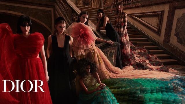 画像: 'Disturbing Beauty', Dior Autumn-Winter 2021-2022 Collection www.youtube.com