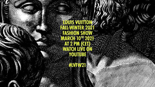 画像: Women's Fall-Winter 2021 Fashion Show   LOUIS VUITTON www.youtube.com