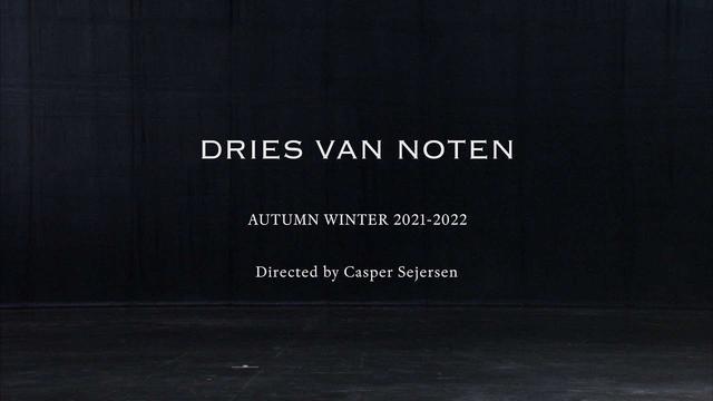 画像: Dries Van Noten Women's Autumn Winter 2021-22 www.youtube.com