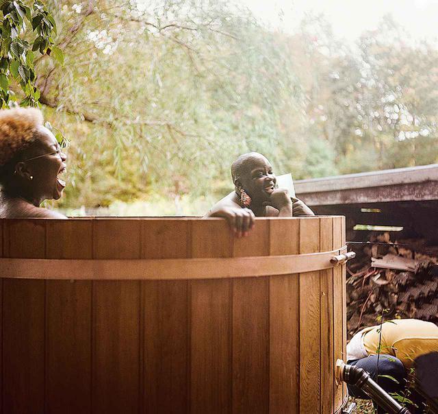 """画像: ナイマ・グリーンの作品《Activation Residency as a Personal Paradise(個人を尊重する天国、アクティベーション・レジデンシー)》(2020年) NAIMA GREEN, """"ACTIVATION RESIDENCY AS A PERSONAL PARADISE"""" , 2020"""