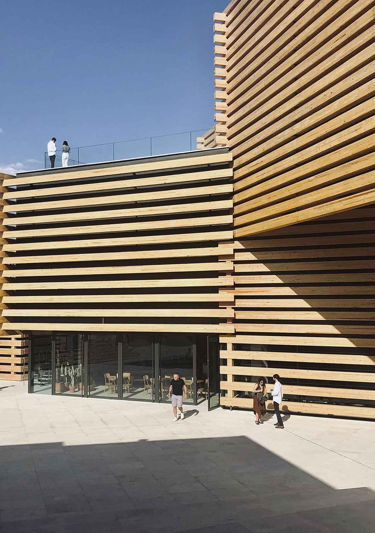 Images : 『隈研吾展 新しい公共性をつくるためのネコの5原則』 東京国立近代美術館