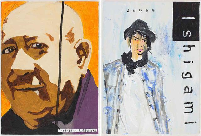 画像: (写真左)クリスチャン・ボルタンスキー (写真右)石上純也 © TADANORI YOKOO © ANDRÉ MORIN