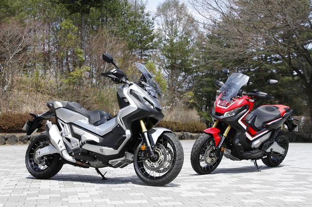 画像: オフロード版インテグラであり、コミューター版アフリカツインと言えるX-ADV。750ccという排気量で、スポーツバイクとスクーター、さらにクルーザーとオフロードモデルのキャラクターを併せ持つ。