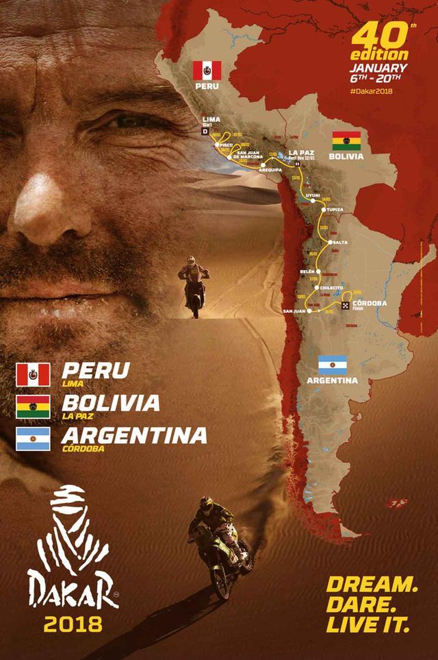 画像: ラリー開催国 : ペルー→ボリビア→アルゼンチン