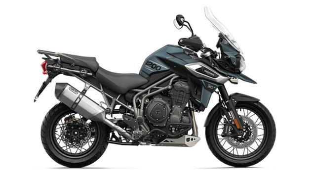画像: 力強い個性的なシルエット「TIGER 1200XC/XR シリーズ」