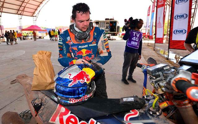 画像2: ステージ10 ♯2 KTMのマティアス•ウォークナーが優勝