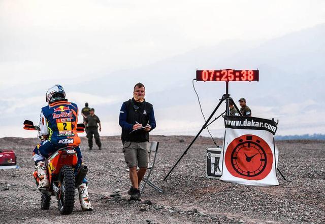 画像: 280kmのSS区間はアルゼンチンの砂丘を走る過酷なステージで、気温は40℃を超える。