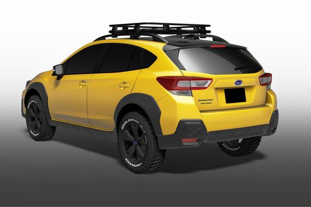 画像: 専用オフロードタイヤを装着。アウトドア色が強まっている。