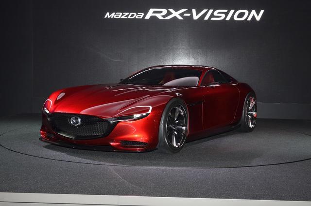 画像: 前回の東京モーターショーの華だった、マツダ RX-VISION。