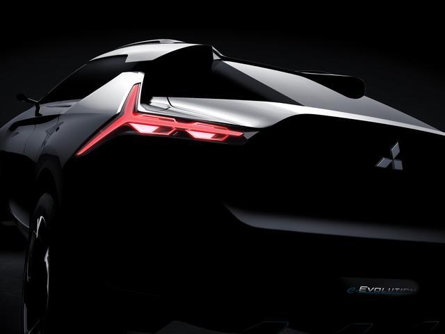画像: 三菱自動車、第45回東京モーターショー2017にコンセプトカー「MITSUBISHI e-EVOLUTION CONCEPT」を世界初披露。