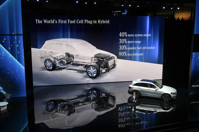 画像: メルセデス・ベンツ GLC F-CELL。様々なメリットがあるが興味は市販モデルの価格設定だ。