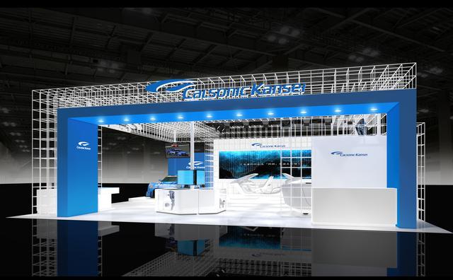 画像: カルソニックカンセイ 東京モーターショー2017 ブースイメージ。