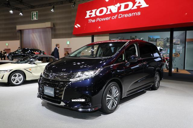 画像: オデッセイ (今秋マイナーチェンジ予定) オデッセイが新たな魅力をまとってこの秋マイナーチェンジを予定。外装はより力強く、内装はより上質なものに変わるほか、ハイブリッドモデルはACCに渋滞追従機能を追加した安全運転支援システム「Honda SENSING」を採用する。