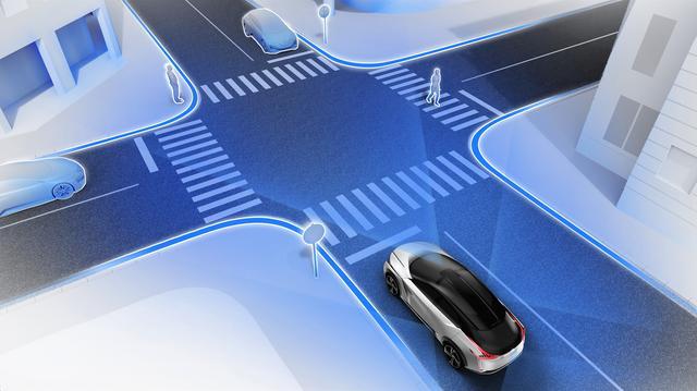 画像1: Nissan IMxの最先端の安全装備は、日産の「セーフティ・シールド(クルマが人を守る)」思想の集大成ともいえる。