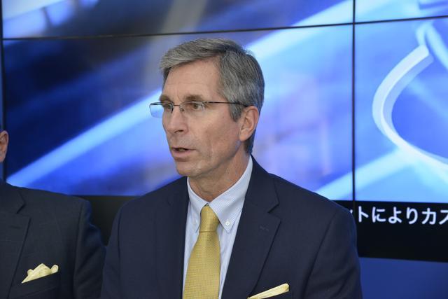 画像: グッドイヤー アジア・パシフィック地区製品開発担当副社長、デビッド・ザンジグ氏。