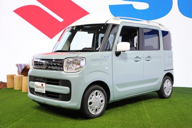 画像: 新型スペーシアは12月下旬に発売されそう(写真は標準車)。